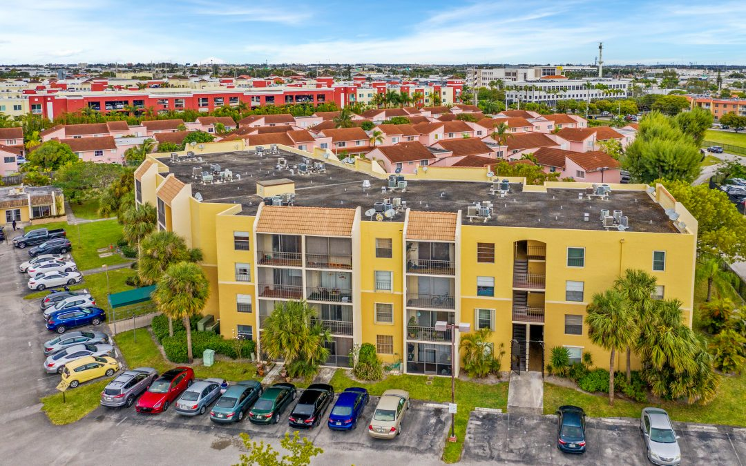 JUST CLOSED IN DORAL: 8005 LAKE DRIVE #112