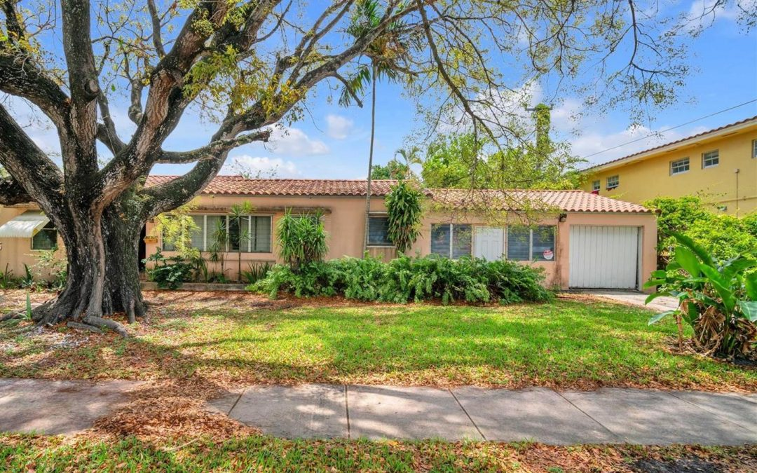 JUST LISTED IN CORALGABLES: 810 CORTEZ STREET