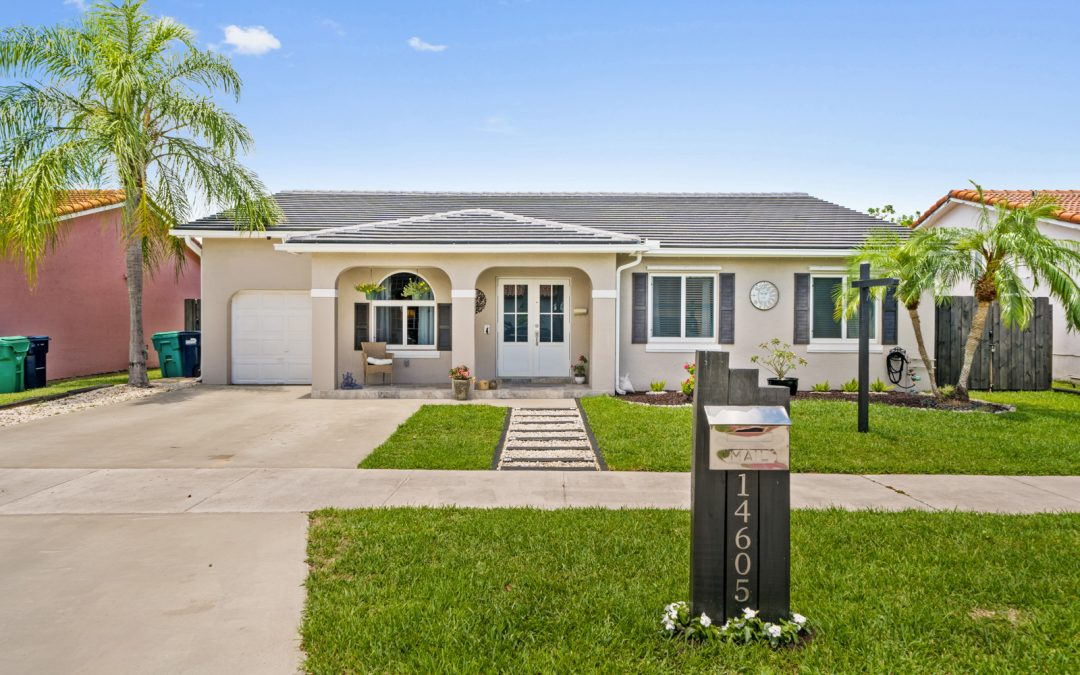 JUST LISTED IN MIAMI: 14605 SW 174 Terrace